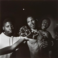 boxing, phila[delphia], p.a. (from the boxers) by larry fink